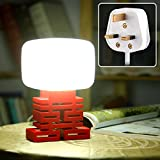 GRDE� Smart Sound Control Lamp, Lucky Bedside Table Lamp with Sound Activated Function, Energy Saving LED Night Light, Great Gift for Children (Upgrade Version, UK Plug)