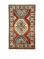 Eden Alfombra Uzebekistan Rojo/Multicolor 90 x 150 cm