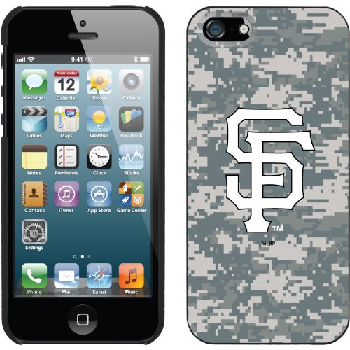 Great Sale San Francisco Giants - Digi Camo SF design on a Black iPhone 5 Thinshield Snap-On Case by Coveroo
