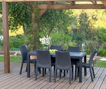 Keter melody table table de jardin jardin o264 - Table jardin keter poitiers ...