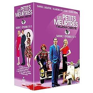 COFFRET 5 FILMS - Les PETITS MEURTRES D'AGATHA CHRISTIE nouveauté (2015)