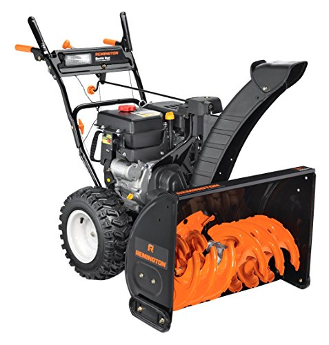 Best Rated Snow Blower Brands : Remington rm cc inch electric start two stage