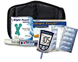 Precision Xtra Diabetes Test Kit - Precision Xtra Meter, 100 Precision Xtra Blood Test Strips, 100 Slight Touch Lancets 30g, Lancing Device and 100 Slight Touch Alcohol Pads