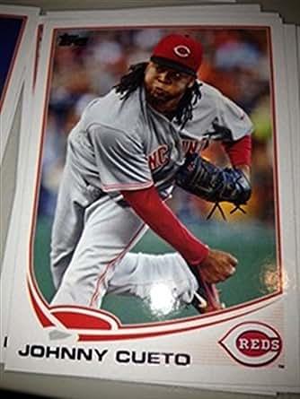 2013 Topps Series 1 & 2 Cincinnati Reds Team Set 22 Cards Mint