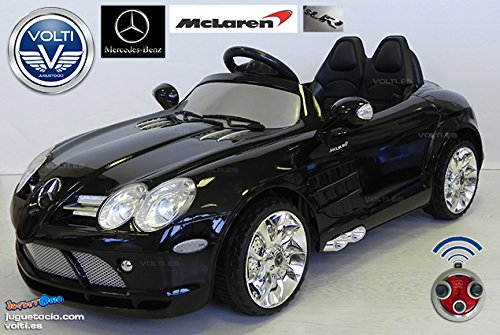Licensed Mercedes Slr Mclaren With Bluetooth Remote Electric Ride On Car 12V Battery 2 Motors Limited Edition New 2015