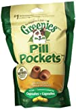 Greenies Pill Pockets Treat for Dogs, 7.9-Ounces, Capsule, 6-Pack