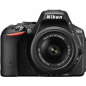 Nikon D5500 Wi-Fi Digital SLR Camera & 18-55mm VR DX Lens (Black)