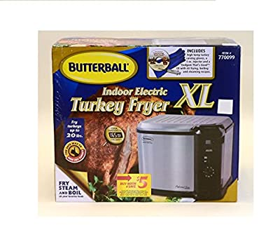 Butterball Indoor Electric Turkey Fryer XL (20 Lbs. Turkey)