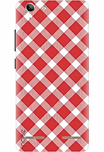 Lenovo Vibe K5 Designer Printed Covers & Protective Hard Back Case / Cover for Lenovo Vibe K5 / Aztec / Checkers Design- By Noise