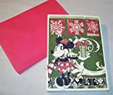 Deluxe Paper Magic Disney Holiday Cards - Box of 18 cards w/ envelopes: A CHRISTMAS WITH MINNIE MOUSE