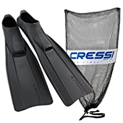 Buy Cressi Clio Full Foot Snorkeling Swim Fin, Adult by Cressi