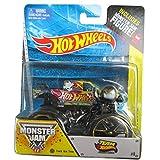 Firestorm Monster Jam Off Road Truck By Hot Wheels 1:64 Includes Monster Jam Figure
