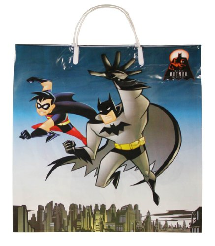 Batman and Robin Trick-or-Treat Bag