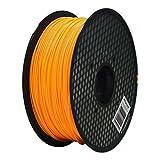 Aspectek 3Dプリンター用PLA フィラメント【高品質で精密・天然素材を使用しており危険な物質を含まない】1kg (オレンジ)