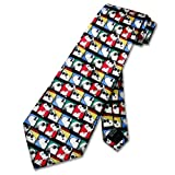 SNOOPY JOE COOL 100% SILK Neck Tie. Peanuts Men's NeckTie.