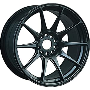 XXR 527 17 Hyperblack Wheel / Rim 5x100 & 5x4.5 with a 25mm Offset and a 73.1 Hub Bore. Partnumber 52779542N