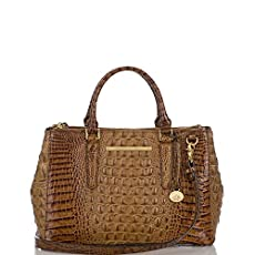 Small Lincoln Satchel<br>Toasted Almond Melbourne