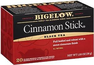Bigelow Cinnamon Stick Tea, 20-Count Boxes (Pack of 6)