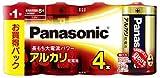 Panasonic アルカリ乾電池単一4本シュリンクパック LR20XJ/4SW