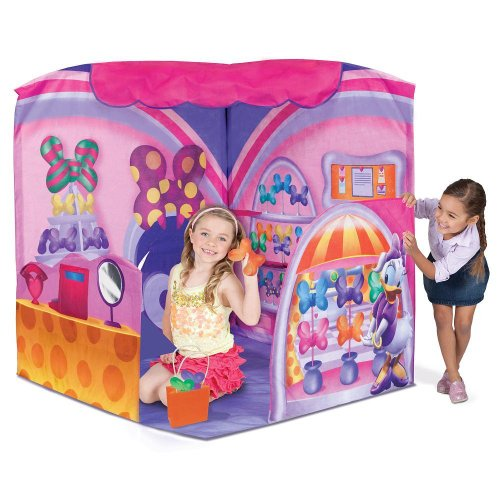 Playhut Minnie Mouse Fashion Bow-tique  sc 1 st  The Best Playhouse Store & Fabric playhouses and tents | The Best Playhouse Store