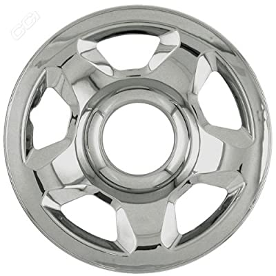 Coast To Coast IWCIMP53X 17 Inch Chrome Wheelskins With 5 Raised Spokes - Pack Of 4