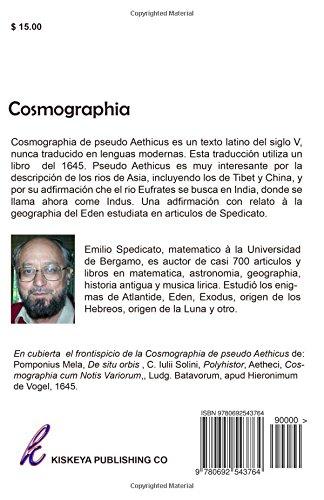 Cosmographia: Pseudo Aethicus