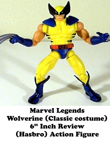 "Marvel Legends WOLVERINE (classic costume) review 6"" inch (Hasbro) red hulk baf series version"