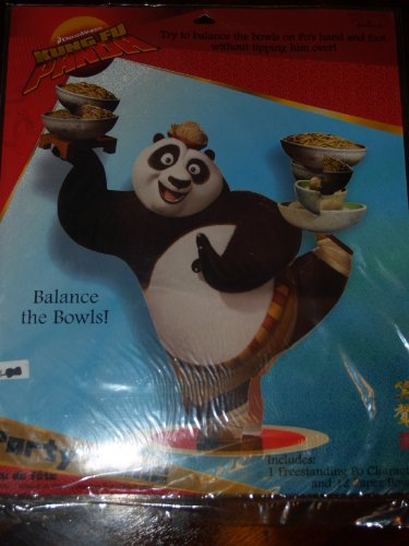 Kung Fu Panda Party Game (1ct) - 1