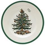 Spode Christmas Tree Salad Plates, Set of 4