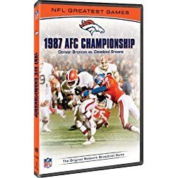 NFL Greatest Games: 1987 AFC Championship