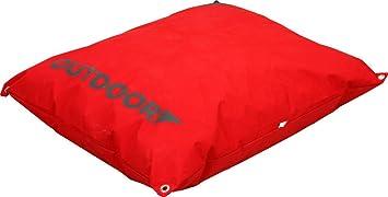 coussin imperm able d houssable outdoor outdoor rouge 90 cm aussi bien pour pour l 39 ext rieur. Black Bedroom Furniture Sets. Home Design Ideas