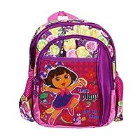 Dora The Explorer & Fiesta Purple School Bag 10 Inches - Backpack For Girls