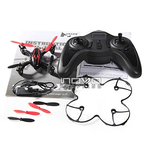 New Shop Hubsan Led X4 H107C 4Ch Rc Quadcopter With Camera Rtf Black/Red