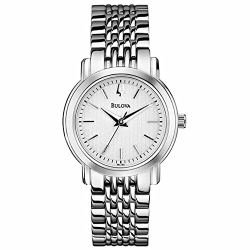 Bulova Women'S 96L190 Analog Display Analog Quartz Silver Watch