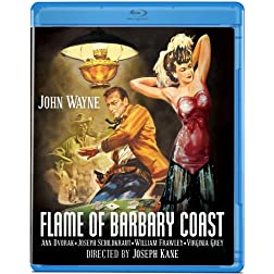 Flame of Barbary Coast [Blu-ray]