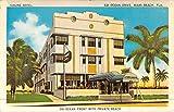 Miami Beach Florida Simone Art Deco Hotel Vintage Postcard K46196