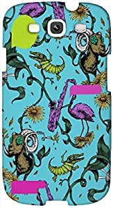 Timpax Protective Hard Back Case Cover Printed Design : Animals in the sky.Exactly Design For : Samsung I9300 Galaxy S III ( S3 )