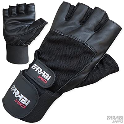 Weight lifting gym training gloves (free shipping ) from Farabi Sports