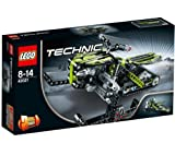 LEGO Technic - Snowmobile - 42021 -Get ready for off-piste action with the ultimate Snowmobile!A super-cool Snowmobile for off-piste winter fun, this great model has suspension for each of the two front skis as well as a rear track to help it over any ob
