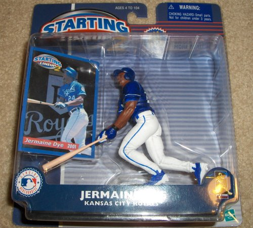 Jermaine Dye MLB Starting Lineup 2 Figure
