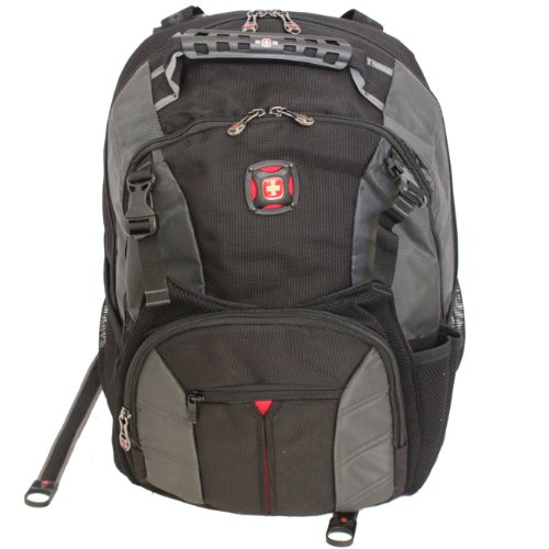 Wenger SwissGear SHERPA Laptop Notebook Computer Backpack - Black