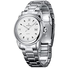 buy Woerda Business Casual Watches 3008-003 (Silver Nails)
