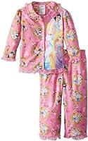 Disney Princess Little Girls'  2 Piece Pajama Set