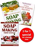 img - for Soap Making for Beginners: The Simple Guides to Making Handmade Soap, 70+ Luxurious Soap Recipes and Tips (3 Books for 1) book / textbook / text book