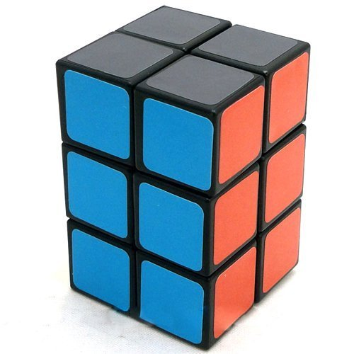 2x2x3 Black Cuboid Cube Twisty Puzzle Smooth - 1