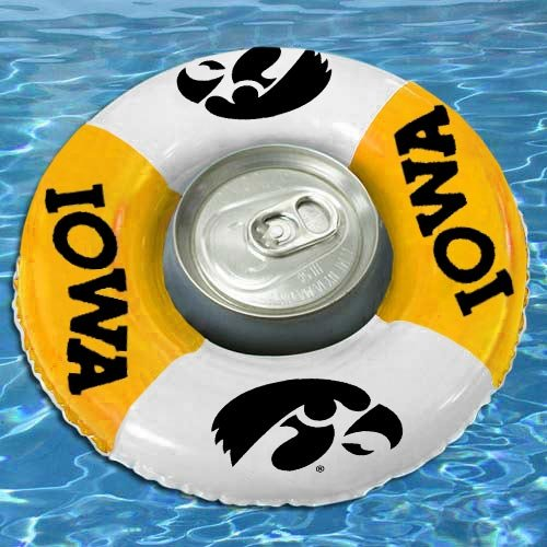 Team Sports America Iowa Hawkeyes Drink Floats front-693225