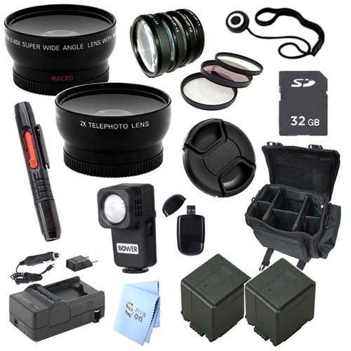 Advanced Professional Kit: For Panasonic Hc-X920 Ultrafine Full Hd Camcorder