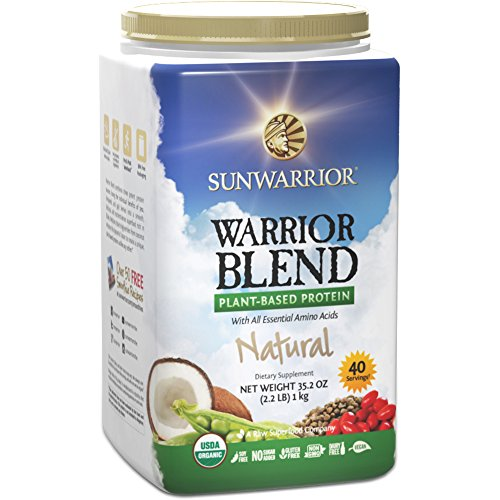 Sunwarrior - Warrior Blend, Raw, Plant-Based Protein, Natural, 40 Servings (2.2 lbs) (FFP) (Sunwarrior Protein Natural compare prices)