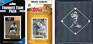 MLB Licensed 2012 Topps Team Set and Favorite Player Trading Cards Plus Storage Album by C&I Collectables