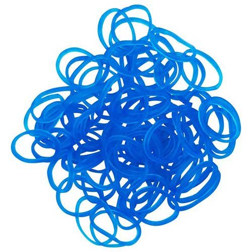 Rainbow Loom Jelly Band Refills - Ocean Blue